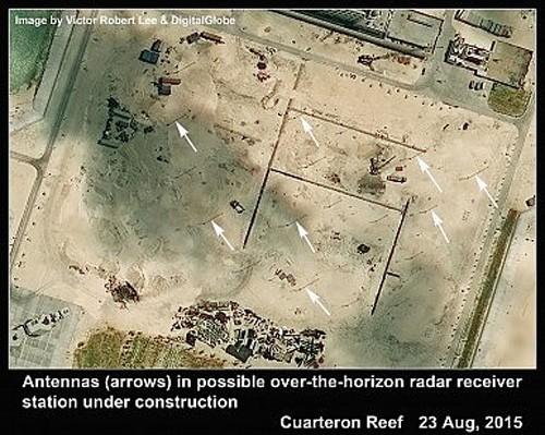 Trung Quốc xây công trình như Lầu Năm Góc ở Trường Sa ảnh 6