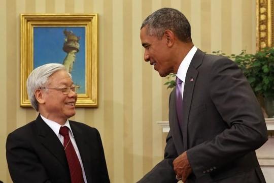 Tổng Bí thư Nguyễn Phú Trọng đã có chuyến thăm lịch sử đến Mỹ tháng 7/2015
