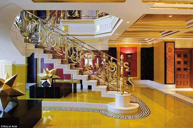 Bên trong khách sạn đế vương tỷ đô, xa xỉ nhất thế giới ảnh 11
