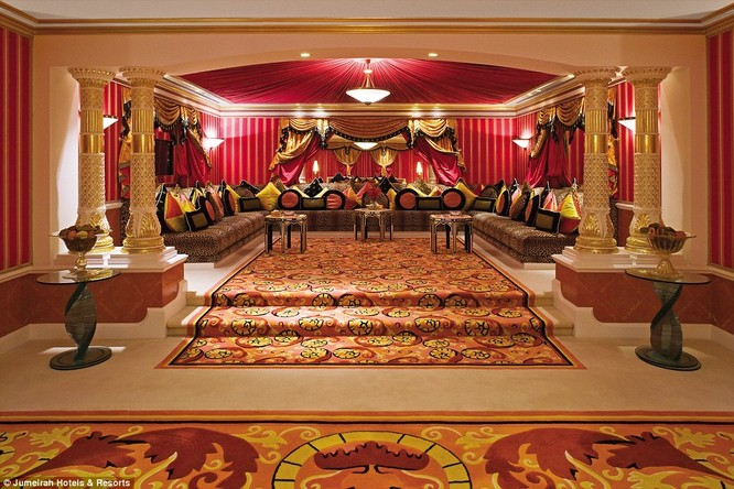 Bên trong khách sạn đế vương tỷ đô, xa xỉ nhất thế giới ảnh 2