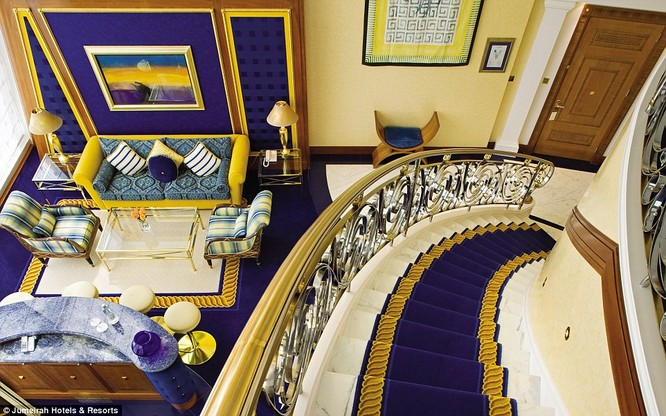 Bên trong khách sạn đế vương tỷ đô, xa xỉ nhất thế giới ảnh 3