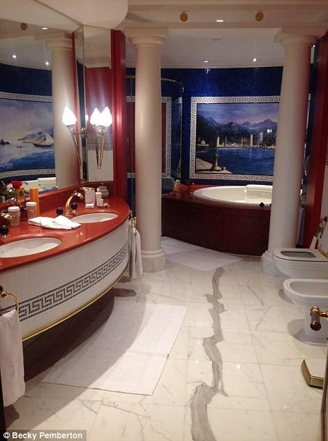 Bên trong khách sạn đế vương tỷ đô, xa xỉ nhất thế giới ảnh 4