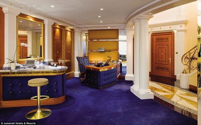 Bên trong khách sạn đế vương tỷ đô, xa xỉ nhất thế giới ảnh 6