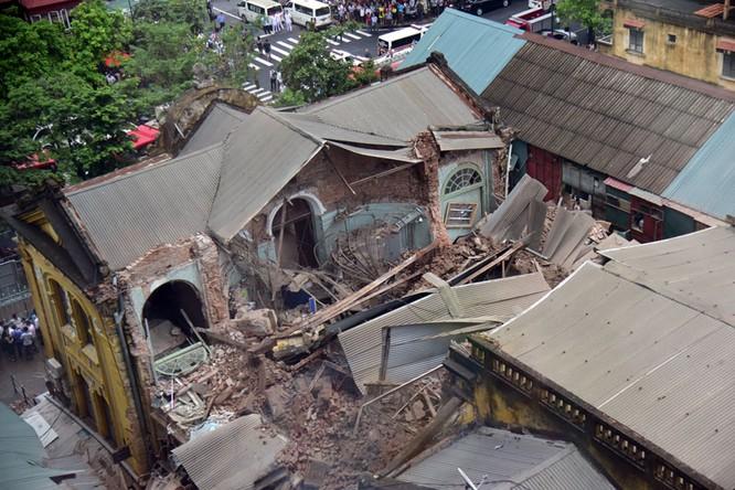 Yêu cầu tập hợp tất cả hồ sơ liên quan biệt thự 107 Trần Hưng Đạo bị sập ảnh 1