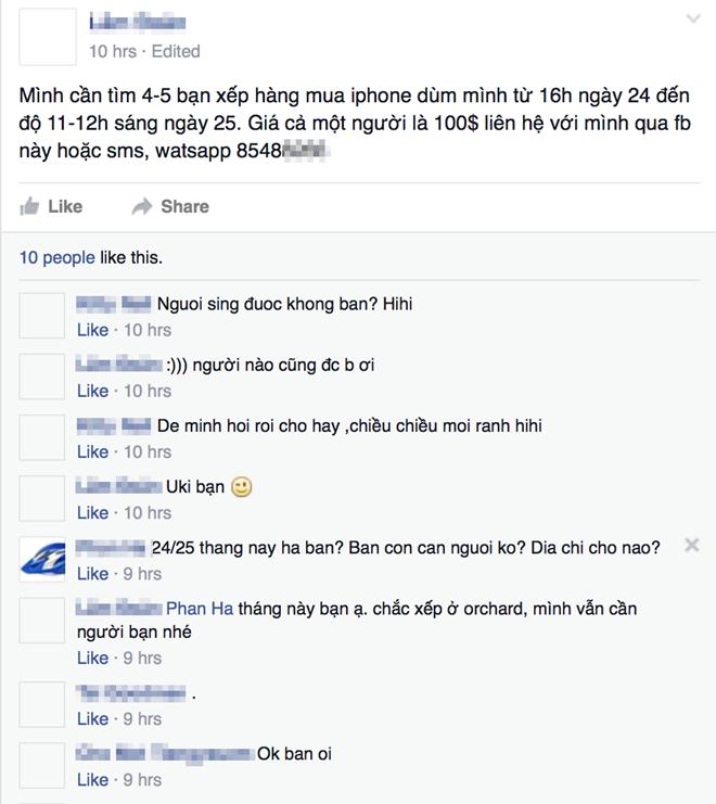 Dân buôn Việt xếp hàng 18 tiếng mua iPhone 6S để nhận 150 USD ảnh 1