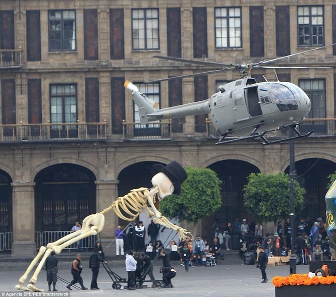 Hậu trường lễ hội tại Mexico City