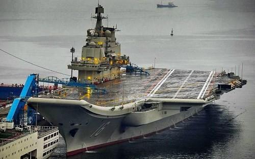 Tàu sân bay Liêu Ninh được Trung Quốc mua tàu cũ của Ukraine về cải tạo lại