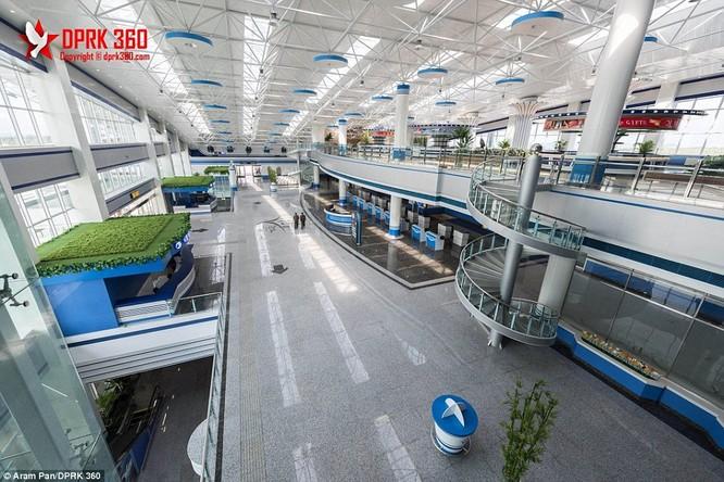 Khám phá bên trong sân bay mới hiện đại nhất Triều Tiên ảnh 1