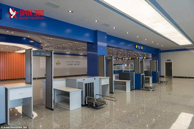 Khám phá bên trong sân bay mới hiện đại nhất Triều Tiên ảnh 2