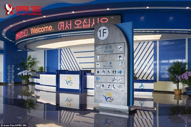 Khám phá bên trong sân bay mới hiện đại nhất Triều Tiên ảnh 5