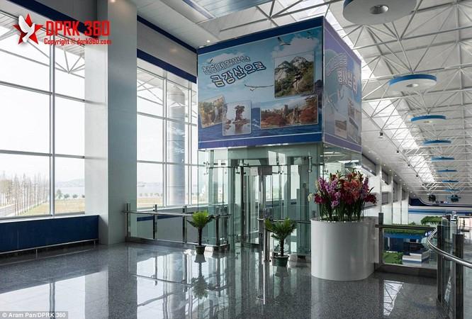 Khám phá bên trong sân bay mới hiện đại nhất Triều Tiên ảnh 6