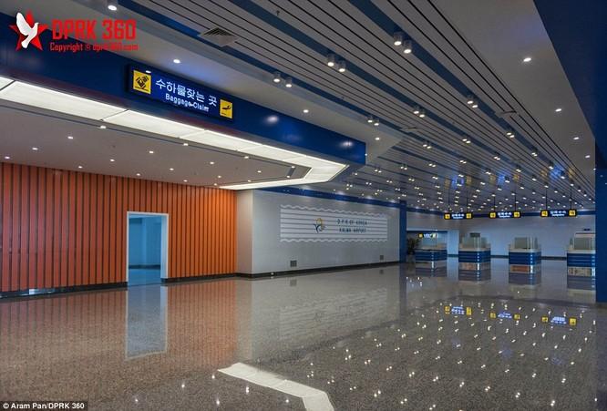 Khám phá bên trong sân bay mới hiện đại nhất Triều Tiên ảnh 7