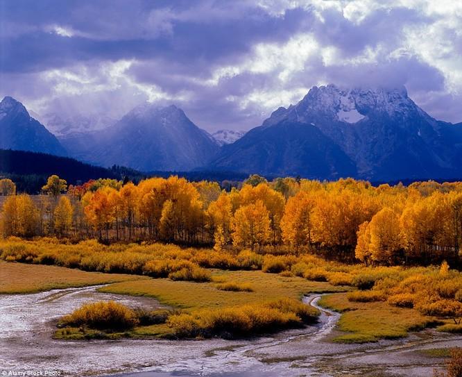 Công viên quốc gia Grand Teton National Park, Wyoming, Mỹ
