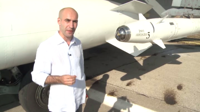 Nga dùng bom thông minh để tấn công các mục tiêu khủng bố trên lãnh thổ Syria