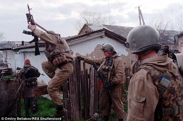 Đặc nhiệm Spetsnaz trong chiến dịch ở Chechnya năm 2002