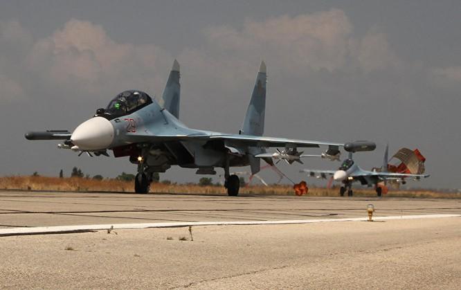 Máy bay ném bom Su-34 tối tân của Nga khiến các nhóm phiến quân khiếp đảm
