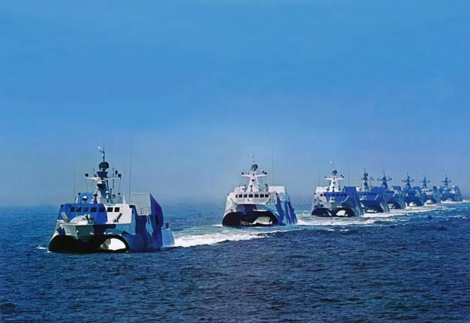 Tàu tên lửa tấn công nhanh của hải quân Trung Quốc