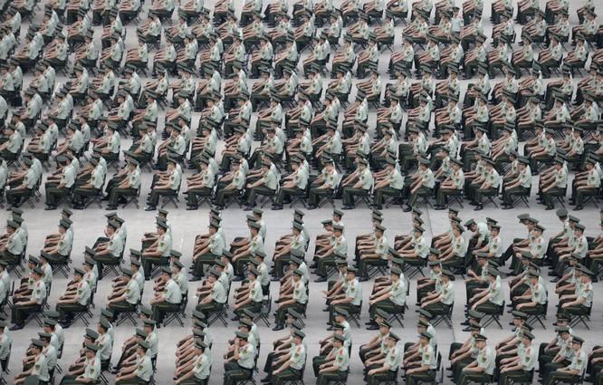 Cảnh sát ở Nam Kinh, tỉnh Giang Tô