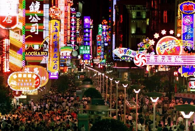 Đường phố Thượng Hải về đêm