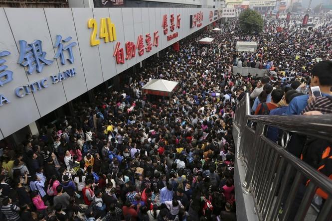 480 triệu người Trung Quốc đi tàu trong Tuần lễ vàng du lịch hàng năm
