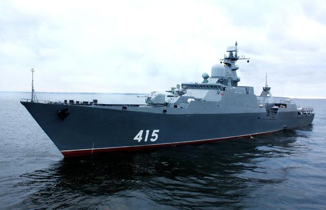 Chiến hạm tàng hình Gepard 3.9 có trong biên chế của hải quân Việt Nam có thể trang bị tên lửa hành trình Klub