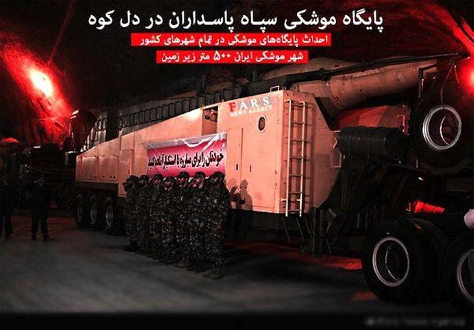 """Hình ảnh bên trong căn cứ tên lửa """"khủng"""" của Iran ảnh 5"""