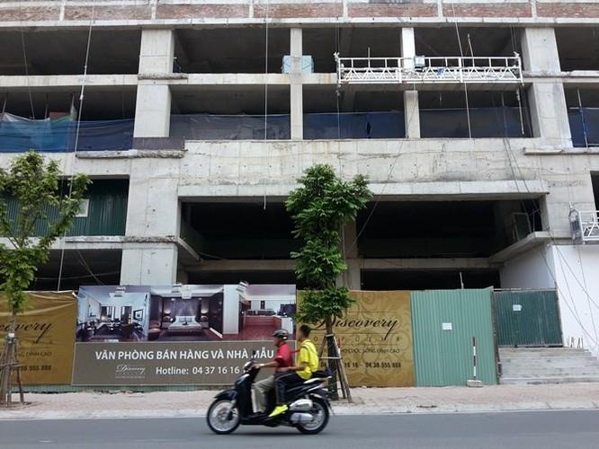 Quận Ba Đình xúc tiến phá dỡ Tòa nhà 8B Lê Trực, chưa rõ phương án đền bù cho khách hàng ảnh 1