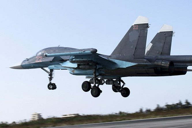 """""""Thú mỏ vịt"""" Su-34 tác chiến ở Syria thu hút Việt Nam và nhiều nước ảnh 1"""