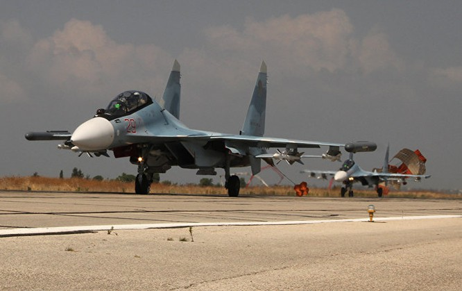Không quân Nga đang tác chiến chống khủng bố tại chiến trường Syria