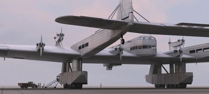 """Sốc với """"pháo đài bay"""" khổng lồ tuyệt mật của Nga ảnh 2"""