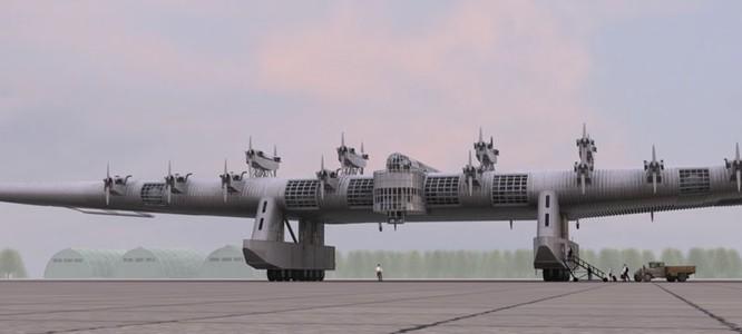 """Sốc với """"pháo đài bay"""" khổng lồ tuyệt mật của Nga ảnh 3"""