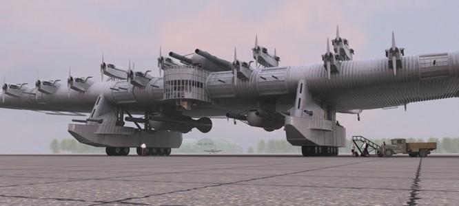 """Sốc với """"pháo đài bay"""" khổng lồ tuyệt mật của Nga ảnh 5"""