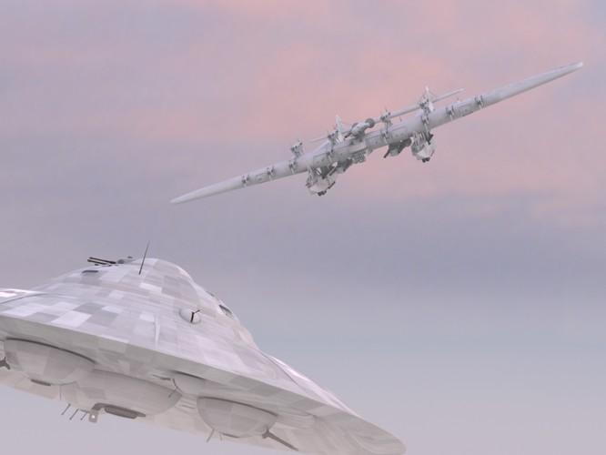 """Sốc với """"pháo đài bay"""" khổng lồ tuyệt mật của Nga ảnh 6"""