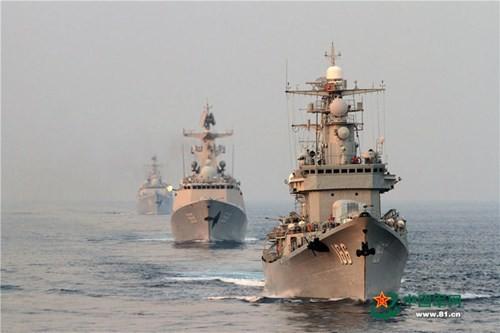 Trung Quốc liên tục tập trận, răn đe vũ lực trên Biển Đông ảnh 1