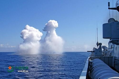 Trung Quốc liên tục tập trận, răn đe vũ lực trên Biển Đông ảnh 4