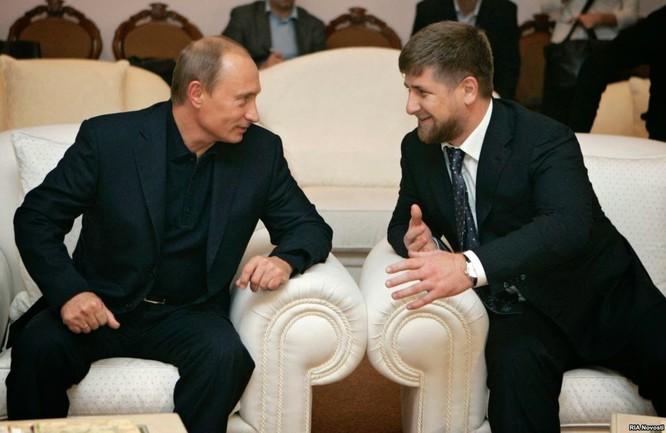 Ông Kadirov là người ủng hộ nhiệt thành tổng thống Nga Putin