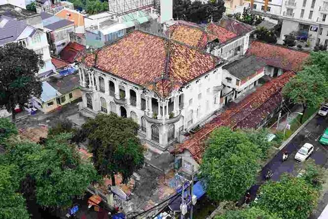 Cận cảnh biệt thự Sài Gòn 35 triệu USD được đại gia bí ẩn mua đứt ảnh 1