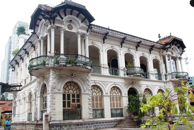 Cận cảnh biệt thự Sài Gòn 35 triệu USD được đại gia bí ẩn mua đứt ảnh 2