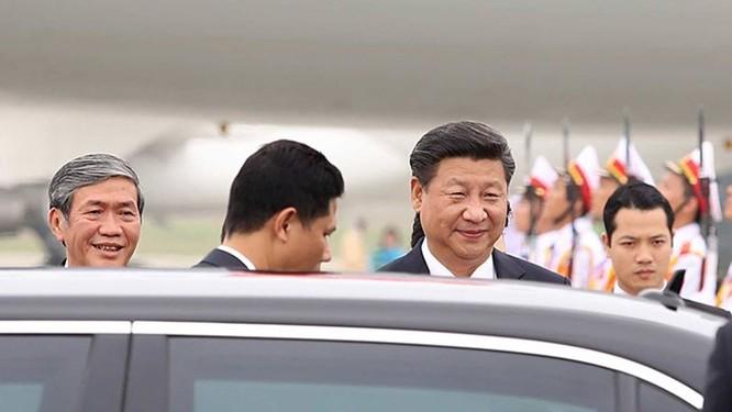 Ông Tập Cận Bình phát biểu gì khi tới sân bay Nội Bài? ảnh 8