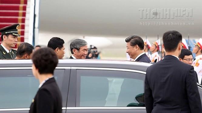 Ông Tập Cận Bình phát biểu gì khi tới sân bay Nội Bài? ảnh 10