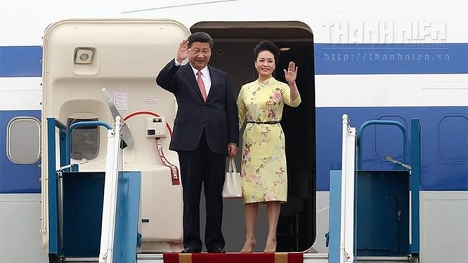Ông Tập Cận Bình phát biểu gì khi tới sân bay Nội Bài? ảnh 4