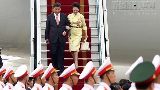 Ông Tập Cận Bình phát biểu gì khi tới sân bay Nội Bài? ảnh 5