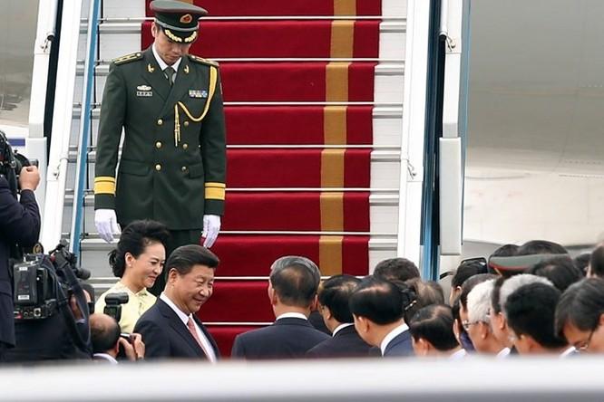 Ông Tập Cận Bình phát biểu gì khi tới sân bay Nội Bài? ảnh 9
