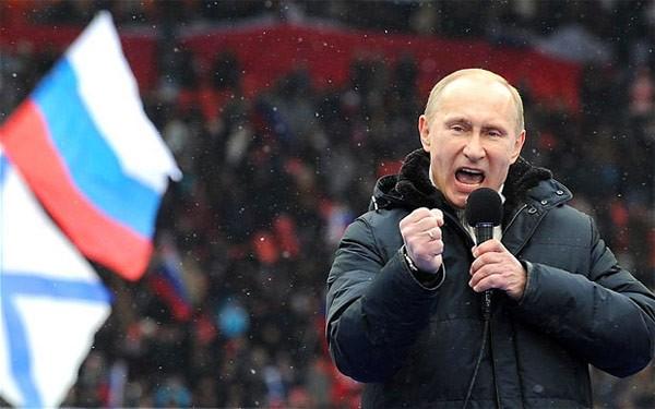 """Putin """"quyền lực nhất"""" thế giới và những khoảnh khắc sức mạnh ảnh 1"""