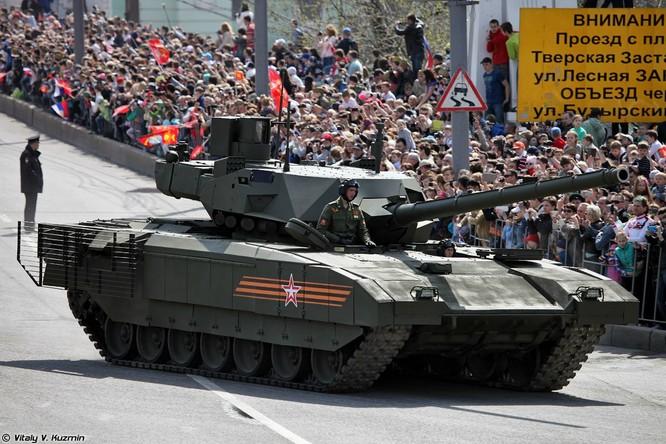Siêu tăng Armata trong lễ duyệt binh kỷ niệm Ngày Chiến thắng 9/5/2015 tại Quảng trường Đỏ