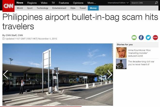Doanh nhân Việt bị bắt vì mang đạn vào sân bay ở Philippines đã về nước ảnh 1