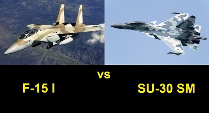 Rất có thể tiêm kích Su-30SM Nga sẽ chạm trán với F-15 Eagle của Mỹ trên không phận Syria