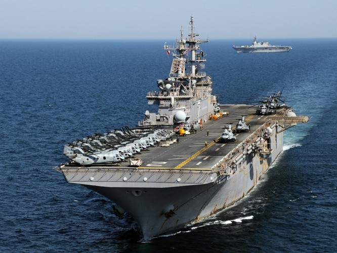 Nhóm tàu tác chiến đổ bộ Mỹ tuần tra Biển Đông ảnh 1