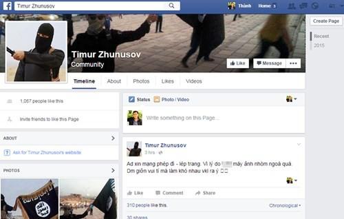 Giả mạo Facebook của thành viên IS gây hoang mang tại Việt Nam ảnh 2