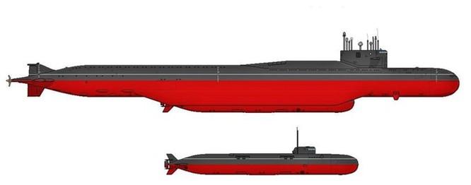 Tàu ngầm 'bí mật' Moscow của Nga lộ diện ảnh 1